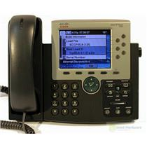 CISCO CP-7965G VoIP PHONE COLOR TFT Pixelated Display Damaged Screen 7965--EUU7