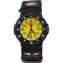 Luminox 3905. Navy Seal Divers Watch. Yellow Dial w/Glo Markers. 200M Resist.