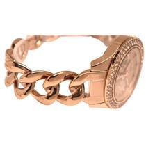 Fossil ES3500.Glitz.Stella. 3 MOP Subdials.Rose Gold-Tone Dial/Case/Bracelet.50M Resist.