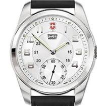 Victorinox Swiss Army Ambassador XL Men's 24152. Swiss Mechanical Wind Up Watch.Military Time Dial