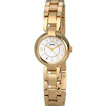 Fossil ES2851. Stainless-Steel Gold Tone Bracelet. Mop Dial