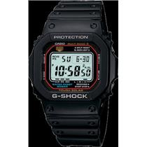 Casio G-Shock GW-M5600-1. Tough Solar. 5 Band Atomic. World Time. Five Alarms. 200m Water Resist.
