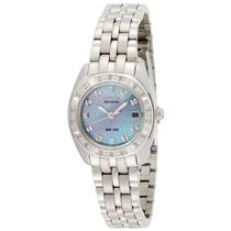 Citizen EW1590-56Y. Glitz.Diamond Accents.Eco -Drive Movement.MOP Dial.Stainless Case/Bracelet.100M