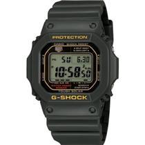 Casio G-Shock G-5600 A-3. Tough Solar. Green/Olive. Wrist Flick Full Auto Backlight.