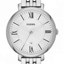 Fossil ES3433 Ladies. Jacqueline Collection. All Steel Bracelet. Date. 30M Water Resist.