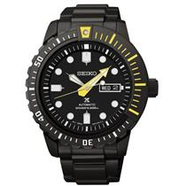 Seiko SRP633.Prospex Collection.Automatic. Diver.Black Dial w/Luminous Hands / Markers.Black Stainle