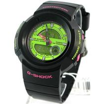 Casio G-Shock AW582SC-1ADR. 5 Alarms. Neo-Brite Luminous Hands/Markers. 200m Resist.