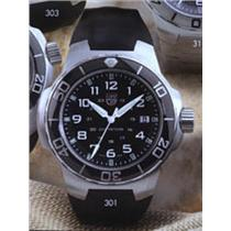 Luminox # 301 Special Forces Series. Black Rubber Strap, Stainless Steel Case