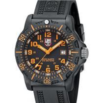Luminox Navy Seals A8819.GG Black Ops Carbon Series Black/Orange Watch