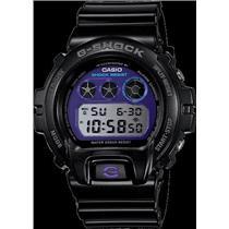 Casio G-Shock DW6900MF -1. Dual Time.Stopwatch. Purple Dial.200M Water Resist.