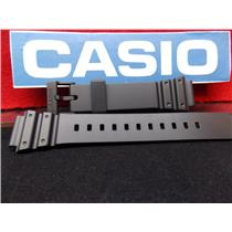 Casio Watch Band MRW-200 H Black Rubber Strap. Watchband