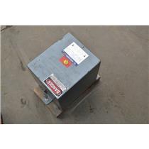 7.5KVA Square D 7S1F Transformer HV: 240x480 LV: 120/240, 751F