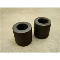 """Lot of 2 Graphite 1 oz Crucibles for Melting Gold-Silver-Copper- 1"""" W x 1"""" Tall"""