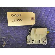 BOSCH DRYER 422183 SWITCH USED PART ASSEMBLY FREE SHIPPING