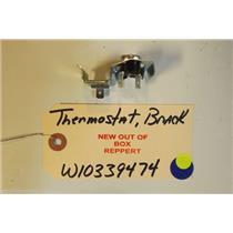 AMANA DISHWASHER W10339474   Thermostat,  bracket  NEW W/O BOX