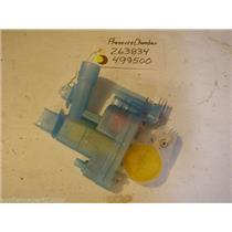 Bosch  dishwasher  Pressure chamber 263834  499500 USED PART