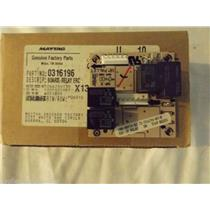 AMANA/MAYTAG STOVE 0316196 Board, Relay Erc  NEW IN BOX