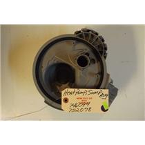 BOSCH  DISHWASHER 746094  752078  Heat pump, sump assembly  NEW W/O BOX