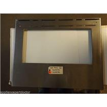 FRIGIDAIRE Stove  316407906 316407902 Panel,oven Door ,stainless ,outer   USED