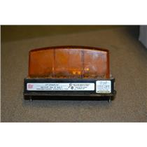 Federal Signal LP1 Streamline Strobe Light Amber 24VDC .08A Series A