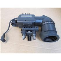 "Panasonic VEQ2089 Video Camera Viewfinder 1-1/2"" Black & White with Eye Cup"
