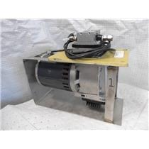 Air Dimensions Dia-Vac Dual Head Vacuum Pump Model R0521500-100 W/ Custom Stand