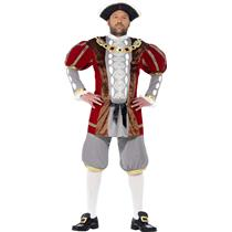 Smiffy's Men's Tales of Old England Henry VIII Deluxe Adult Costume Size Large