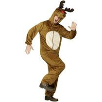 Smiffy's Reindeer Adult Costume with Hood Size Medium