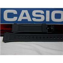 Casio Watch Band W-201 Black Resin Strap for Illuminator model 18mm X 23.5mm