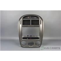 2005-2006 Kia Spectra Hatchback Radio Manual Climate Control Center Dash Bezel