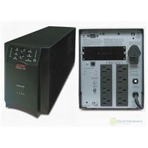 APC SUA1000 SMART-UPS TOWER BACKUP 1000VA 670W 120V (SU1000NET) USB,   NEW BATT.