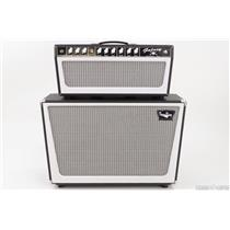 TONE KING Galaxy Guitar Tube Amp Head & 2x12 Cabinet Black NEW B-Stock #21783