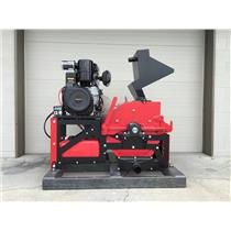"8"" Jaw Ore Crusher-Gold Mining - 20HP Gas Engine - Crush Rock down to 1/4"" to 3"""
