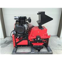 "8"" Jaw Ore Crusher-Gold Mining-10HP Electric Motor-Rock down to 1/4"" to 3"""