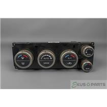 2006 Nissan Pathfinder Climate Control Unit / Panel with Rear Controls