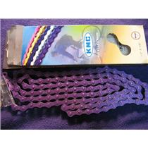 KMC Z410 Single Speed Bicycle Chain Purple
