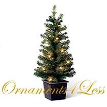2008 Pre-Lit Miniature Christmas Tree - LPR3424