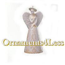 2000 Angelic Bell - Club Ornament - QXC4504
