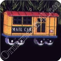 1996 Yuletide Central #3 - The Mail Car - QX5011 - SDB