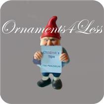 1987 Kurt - The Blue Print Elf - Toymaker Elves Collection - Limited Figurine