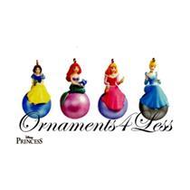 2005 The Royal Princesses - Set of 4 Miniature Ornaments - QXM8952