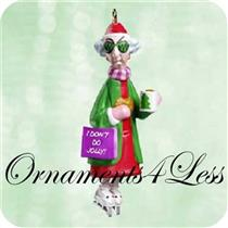 2003 Bunny Skates - Miniature Maxine Ornament - QXM4957