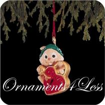 1991 Key to Love - Miniature Ornament - QXM5689 - DB