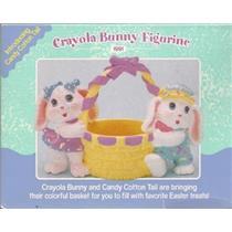 1991 Crayola Bunny Figurine - 00742 - SDB