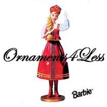1999 Dolls of the World #4 - Russian Barbie - QX6369 - SDB