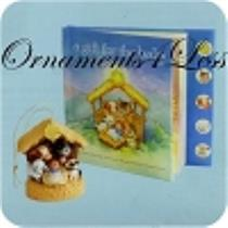 2010 A Gift for the Baby Interactive Ornament and Book Set - QXG7583 - SDB