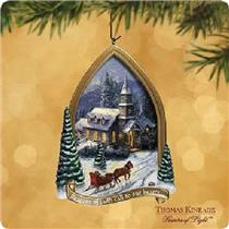 2002 Sunday Evening Sleigh Ride - Thomas Kinkade - QX2903 - SDB