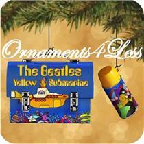 2002 The Beatles Yellow Submarine Lunchbox Set - QXI5313 - SDB