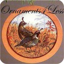 1985 Holiday Wildlife Series #4 - California Partridge - SDB