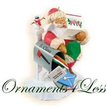 2009 Christmas Cards for Santa - Club Ornament - QXC9003
